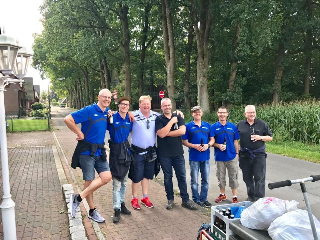 Die Sieger 2017 - Team Blau